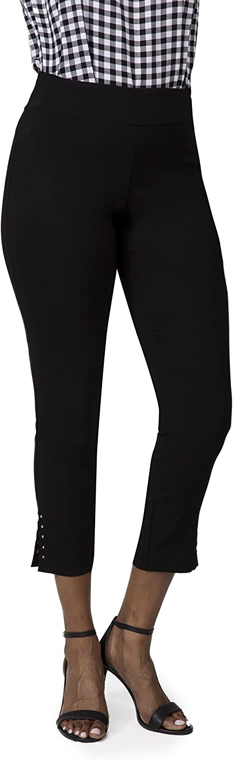 Fundamental Things Women's Pull On Comfort Slim Career Pant with Tummy Control