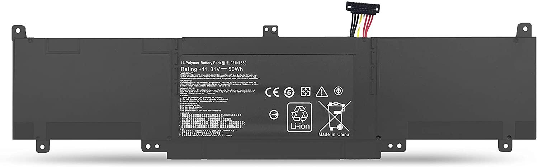 BatteryMon Laptop Battery C31N1339 0B200-00930000 for ASUS ZenBook UX303 UX303L UX303LA UX303LN UX303UB Q302L Q302LA Series Notebook