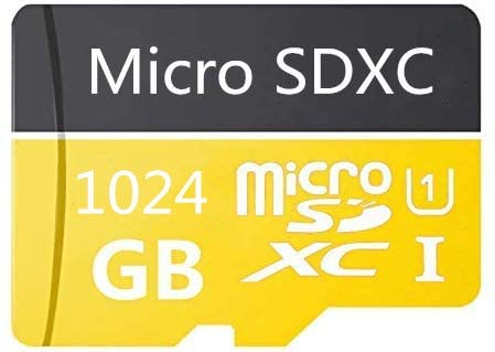 1024GB Micro SD Card High Speed Class 10 SDXC with Free SD Adapter, Designed for Android Smartphones, Tablets and Other Compatible Devices (1024GB-A)