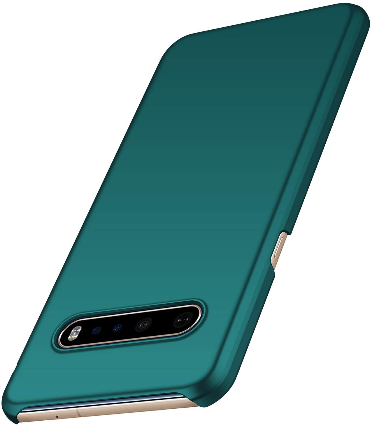 anccer Compatible for LG V60 ThinQ Case [Ultra-Thin] [Anti-Drop] New Premium Material Slim Full Protection Cover for LG V60 ThinQ 5G (Green)