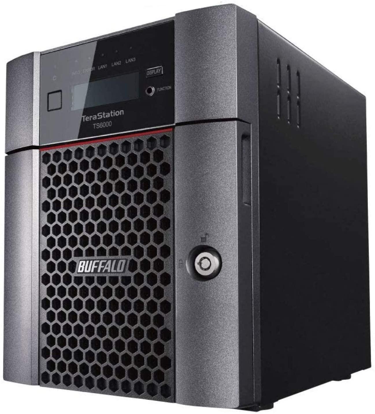 BUFFALO TeraStation 6400DN 16TB Desktop NAS Hard Drives Included + Snapshot (TS6400DN1604)