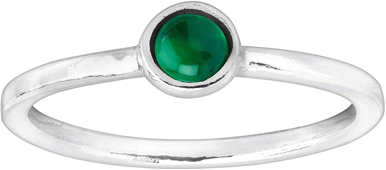 Silpada Celebration Collection Natural Gemstone Ring in Sterling Silver