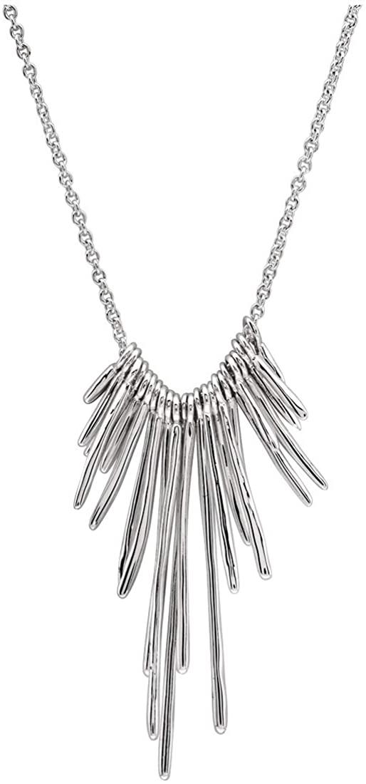 Gorjana Josey Adjustable Necklace In Silver 189112S