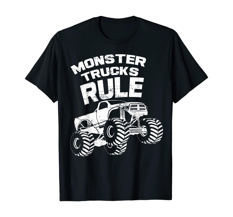 Monster Trucks Rule Shirt | Off Road Lovers Gifts Tee