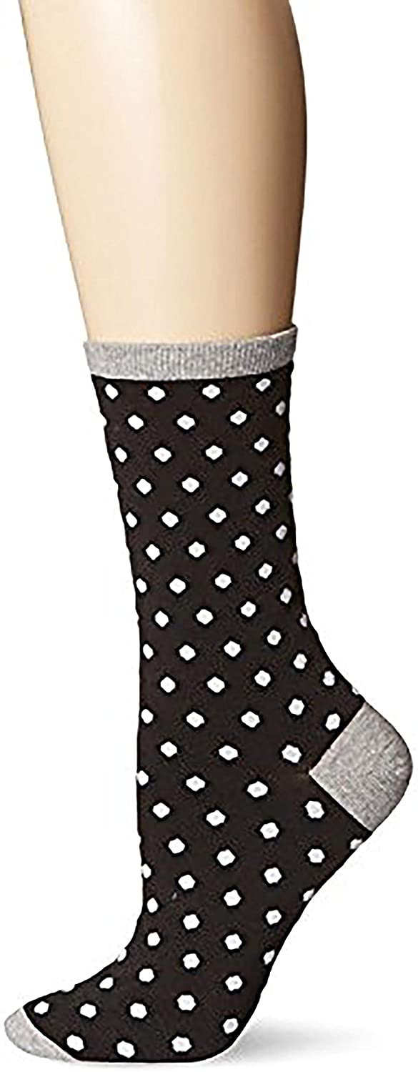 Hot Sox Womens Dress Crew Comes with a Helicase Brand Sock Ring