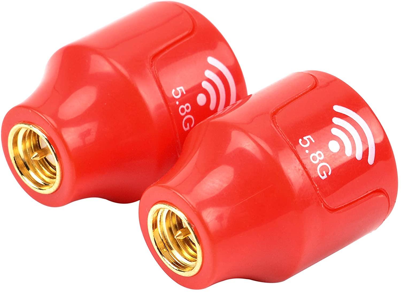 YoungRC Mini 5.8GHz FPV Antenna SMA Male 3dBi Stubby RHCP Antenna for RC Drone Fatshark Goggles (2PCS)