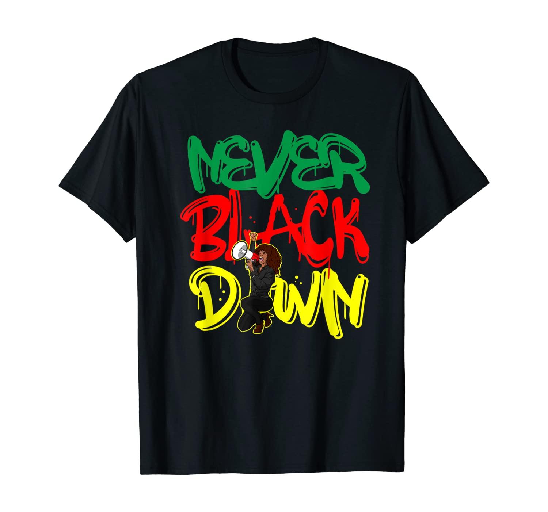 Strong Black Woman Melanin Freedom Diva T-Shirt