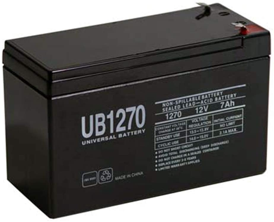 Universal Power Group Battery REPL PX12072 F2 TERMINALS 12V 7.2AH
