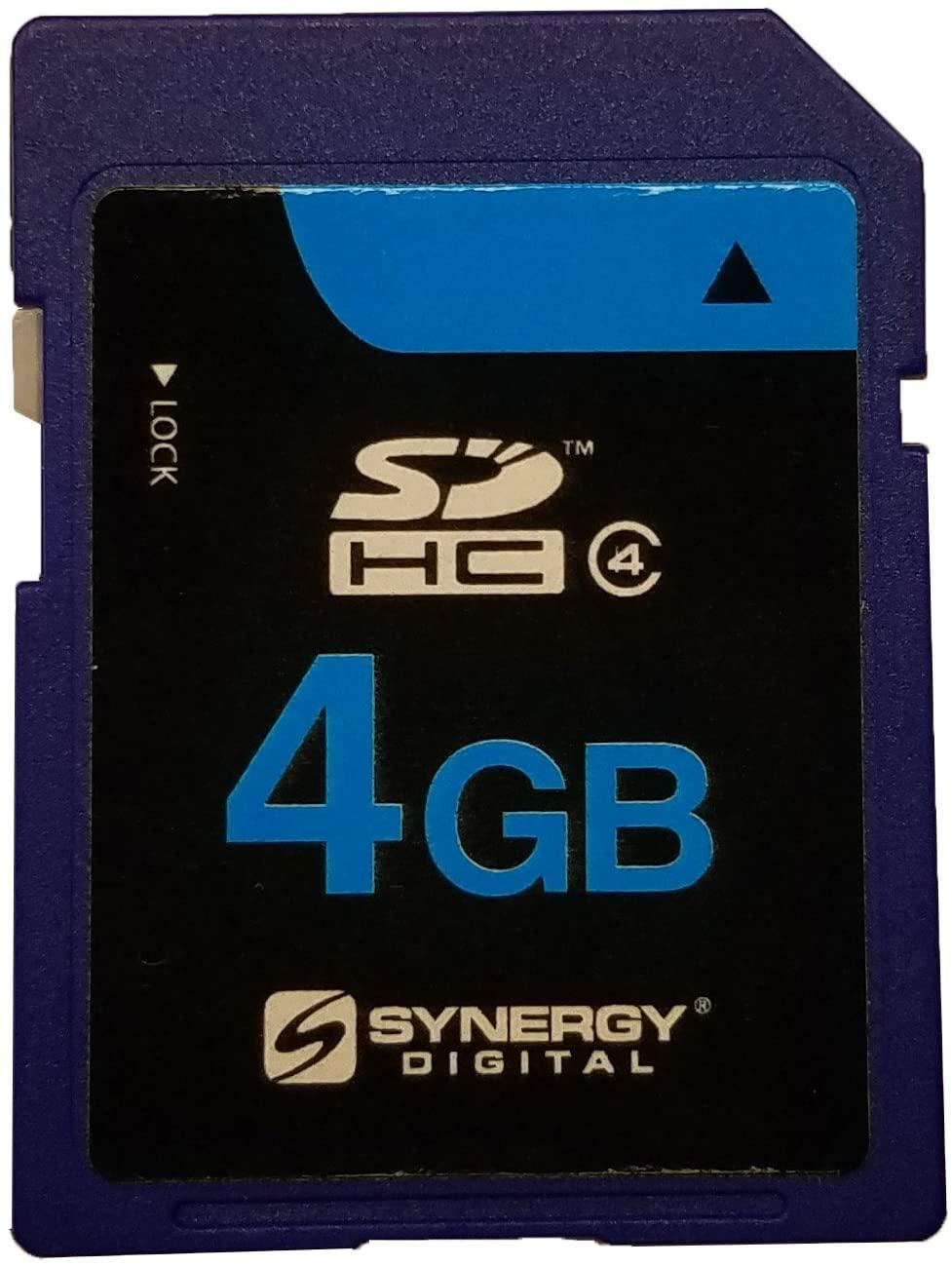 Sanyo VPC CA9 Camcorder Memory Card 4GB Secure Digital High Capacity (SDHC) Memory Card