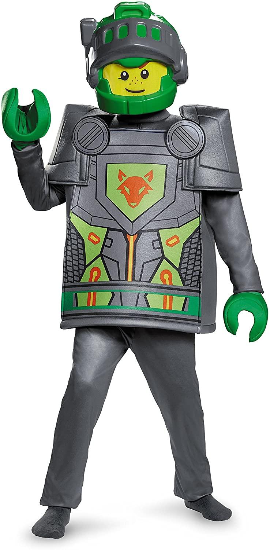 Aaron Deluxe Nexo Knights Lego Costume, Large/10-12