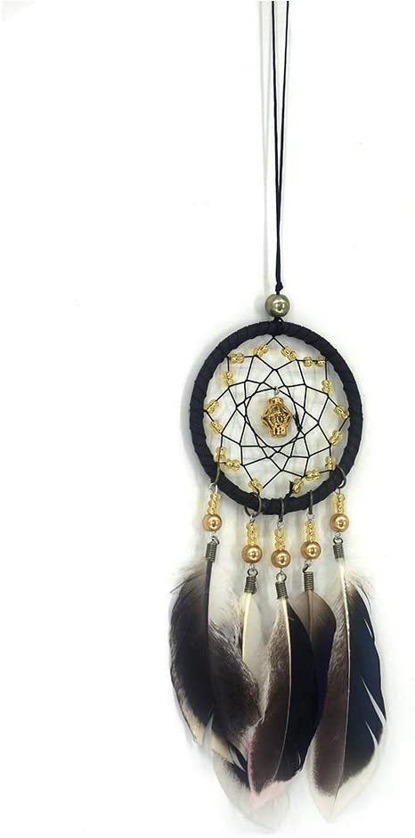Malicosmile Dream Catchers for Cars Rear View Mirror, Vintage Handmade Dream Catcher Wall Hanging Decorations Car Charm Ornament
