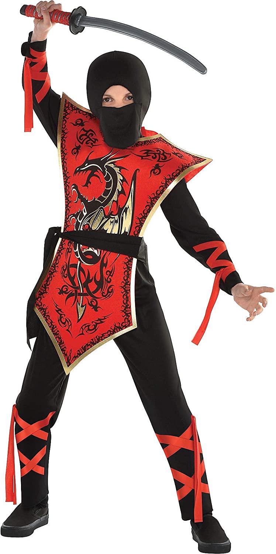 Ninja Assassin Costume Set - Small, 4-6 Yrs