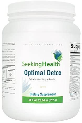 Optimal Detox Functional Food Powder - Vanilla 630 Grams | Seeking Health | Immune Support and Protein Blend