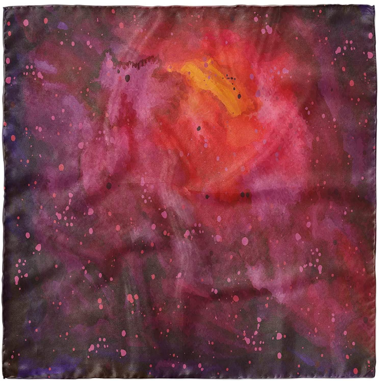 Ambesonne Galaxy Head Scarf, Stardust Universe, Hair Wrap