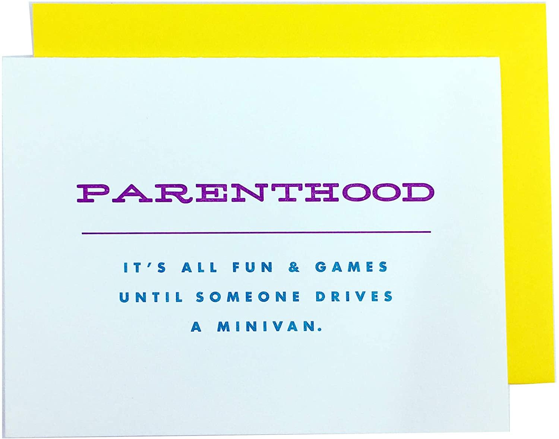 PARENTHOOD - Funny Greeting Card