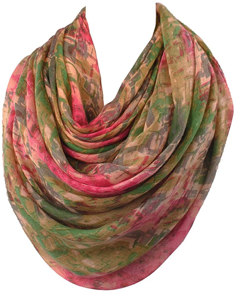 Sibalasi- Mixed Color Cotton Voile Scarf ShawlScarves Beachwear Wrap