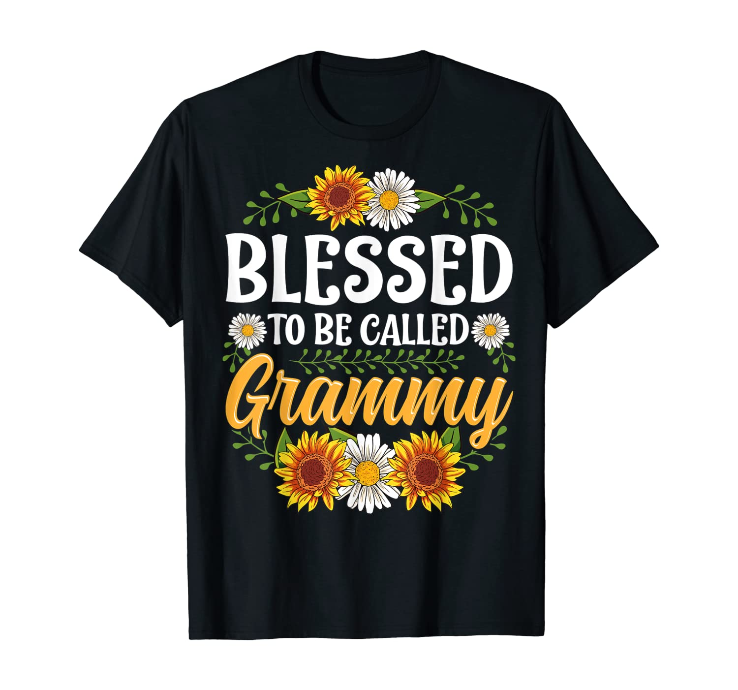 Blessed To Be Called Grammy Shirt Mothers Day T-Shirt