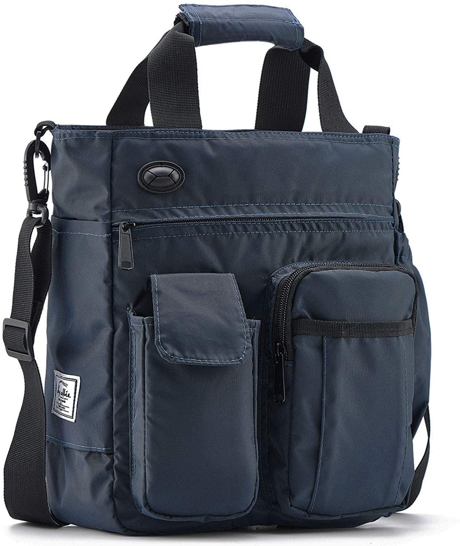 Crossbody Messenger Bag Men Waterproof Shoulder Business Work Bag Nylon