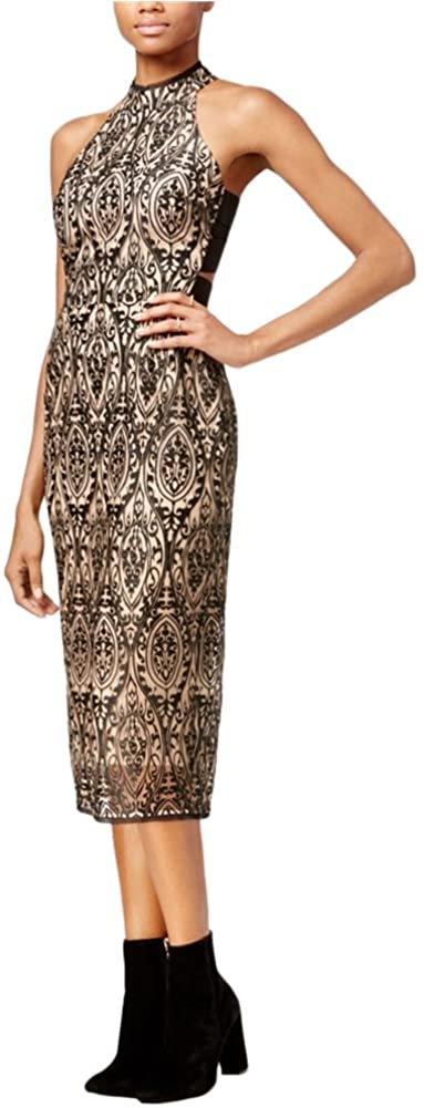 Rachel Roy Womens Embroidered Sheath Dress