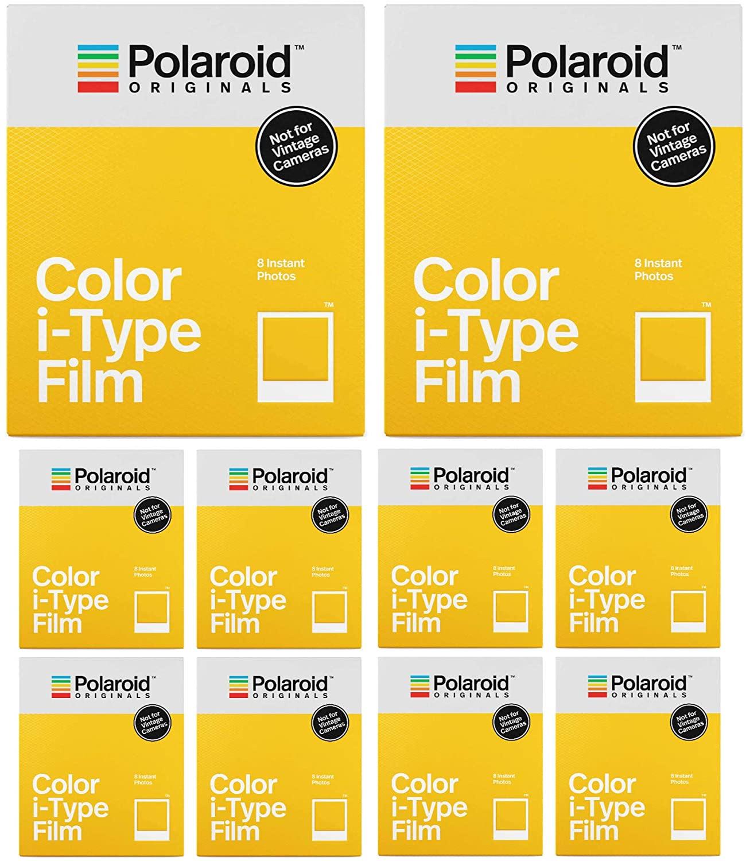 Polaroid Originals Standard Color Instant Film for i-Type Cameras (80 Exposures) (4XX10)