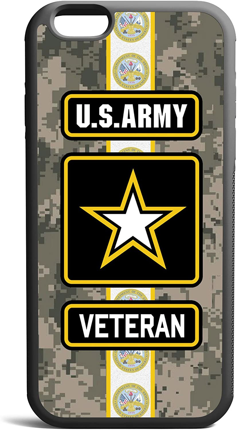 CodeiCases Compatible Case Cover with US Army Veteran Digital Camo Design for iPhone 6 Plus/6s Plus