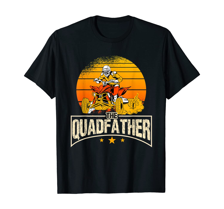 Quad Dad Bike Dad Great Gift Quad Rider Motorsport T-Shirt