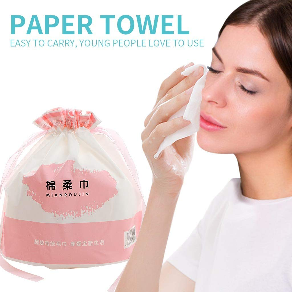 Cleaning Towels Disposable Towels Facial Cleaning Towels Skin-Friendly Travel Cleaning Supplies