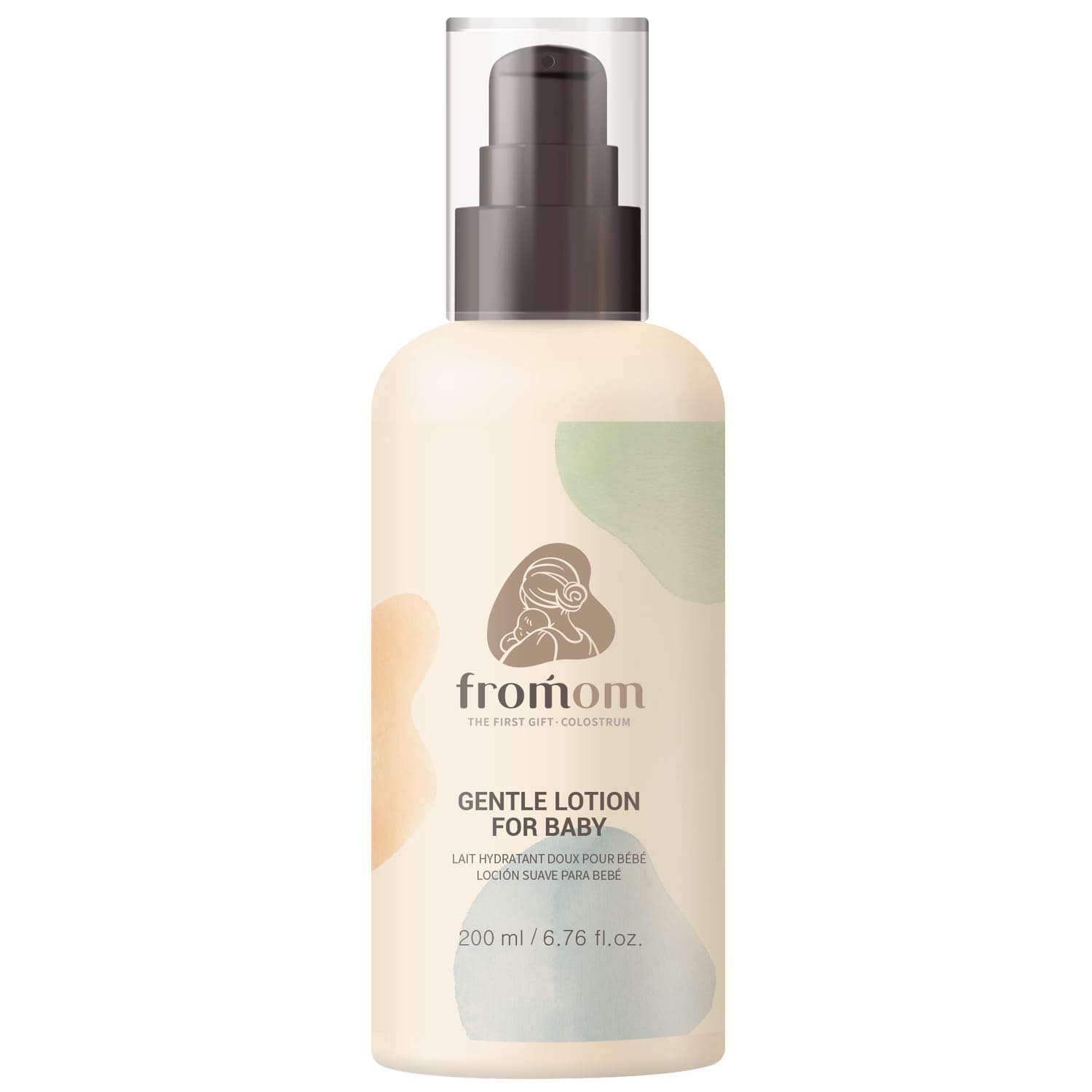 Premium Gentle Lotion for Baby, Face & Body, Hypoallergenic, Therapy for Diaper Rash, Chapped Cheeks and Minor Scrapes - 6.76 fl.oz. by fromom