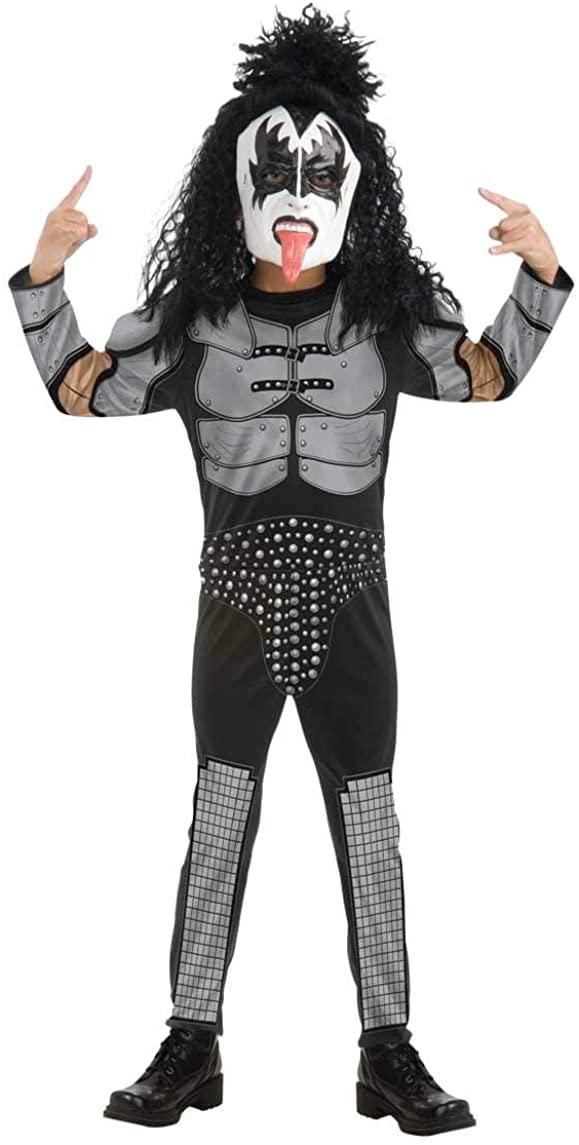 Boys Kiss The Demon Gene Simmons Rock Star Costume