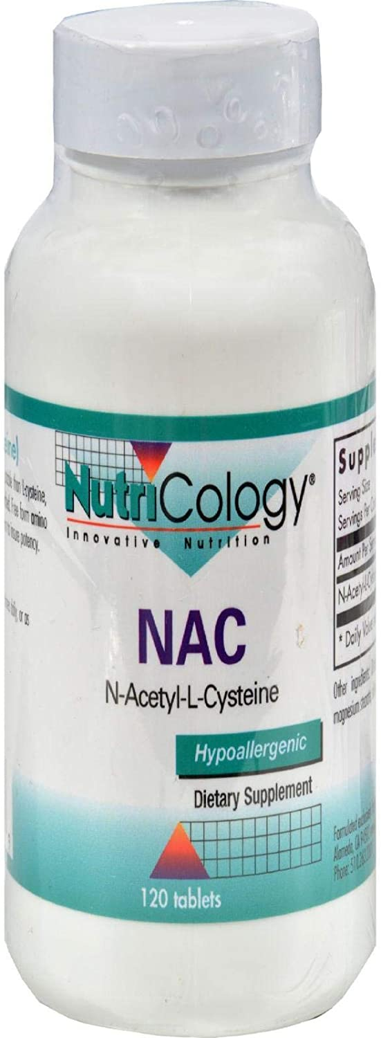 Nutricology N-acetyle-l-cysteine, Tablets, 120-Count