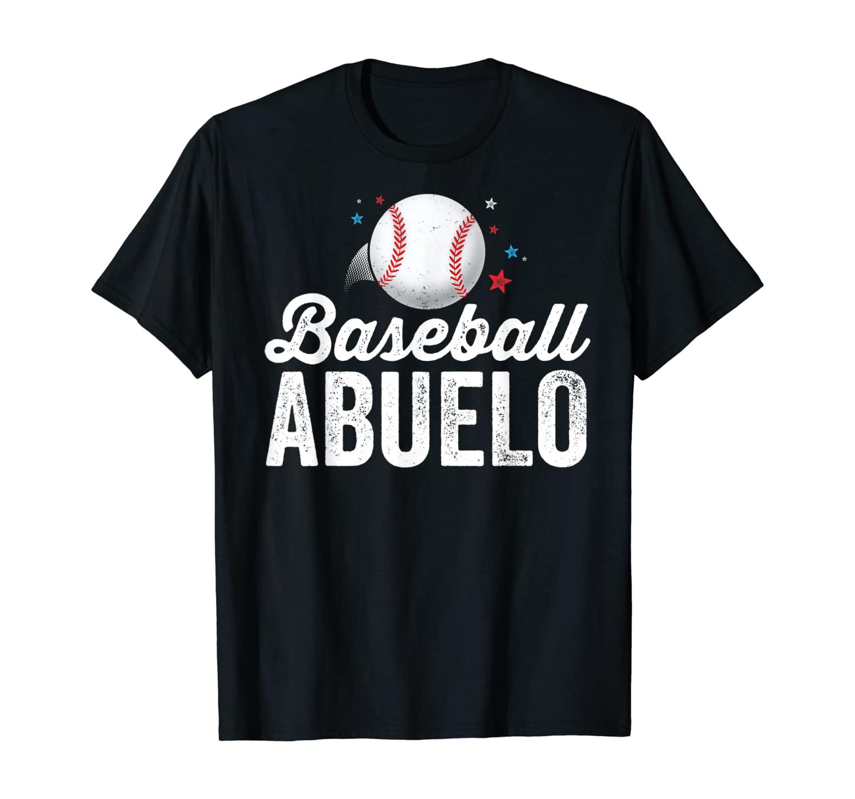 Baseball Abuelo T-Shirt Grandpa Grandfather Latino Gift T-Shirt