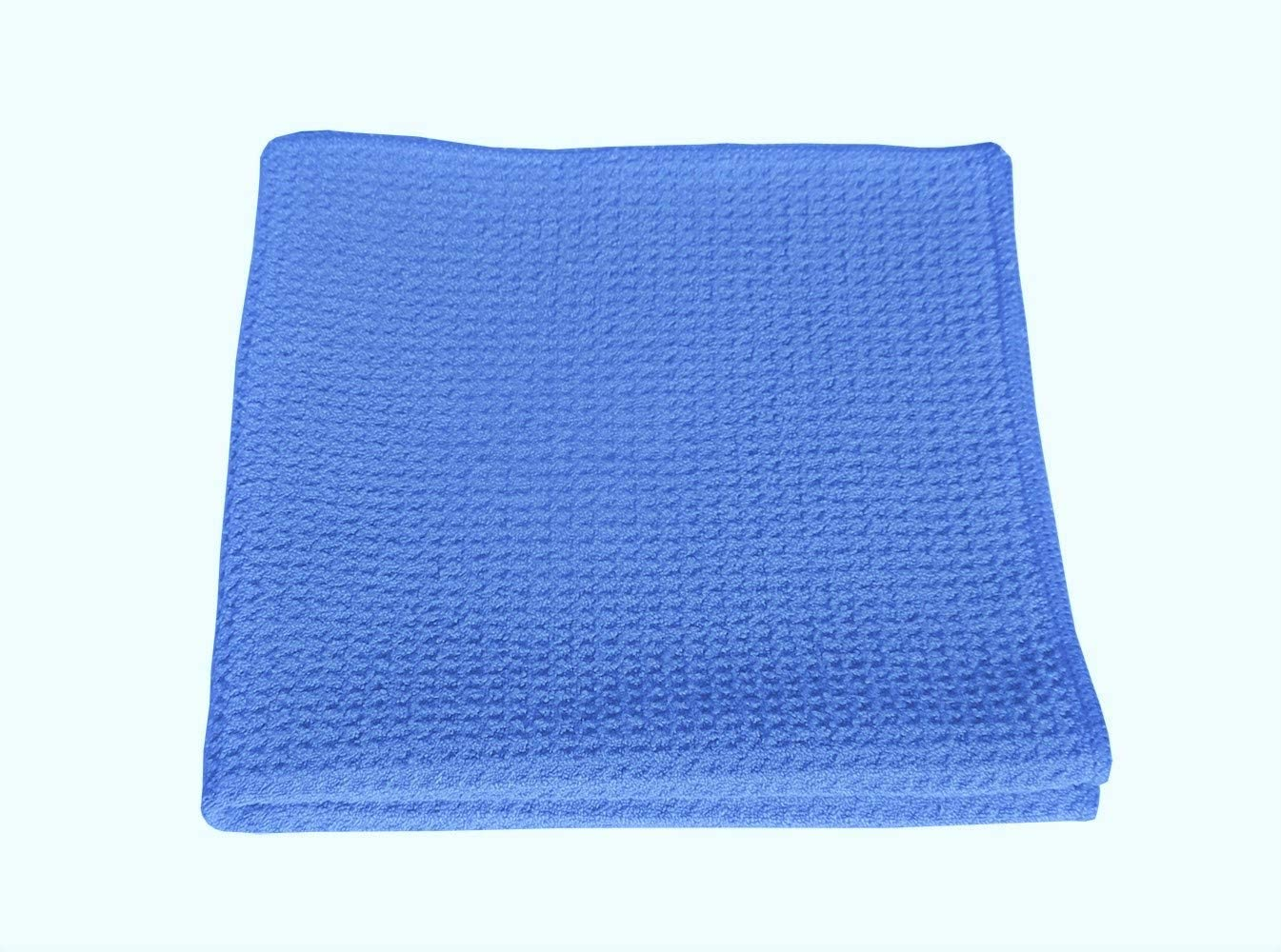 Simplee Cleen Blue Waffle Weave Dish Cloth 12x12