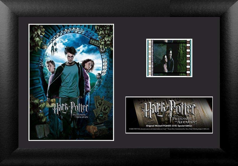 """Trend Setters – Harry Potter and The Prisoner of Azkaban – FilmCells 7"""" x 5"""" MiniCell Desktop Presentation – Featuring 35 mm Film Clip with Easel Stand"""