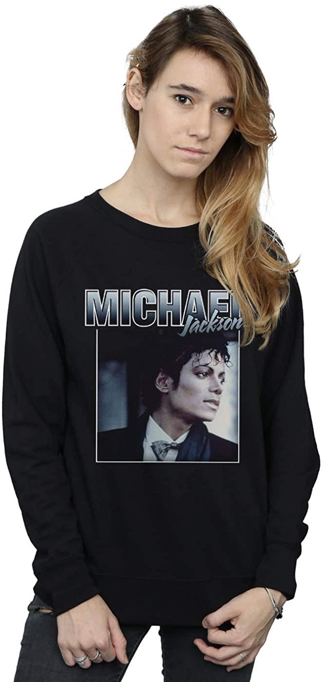 Michael Jackson Women's Homage Portrait Sweatshirt