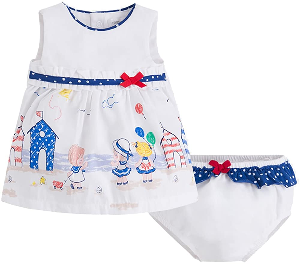 Mayoral Sea Side Dress and Diaper Cover