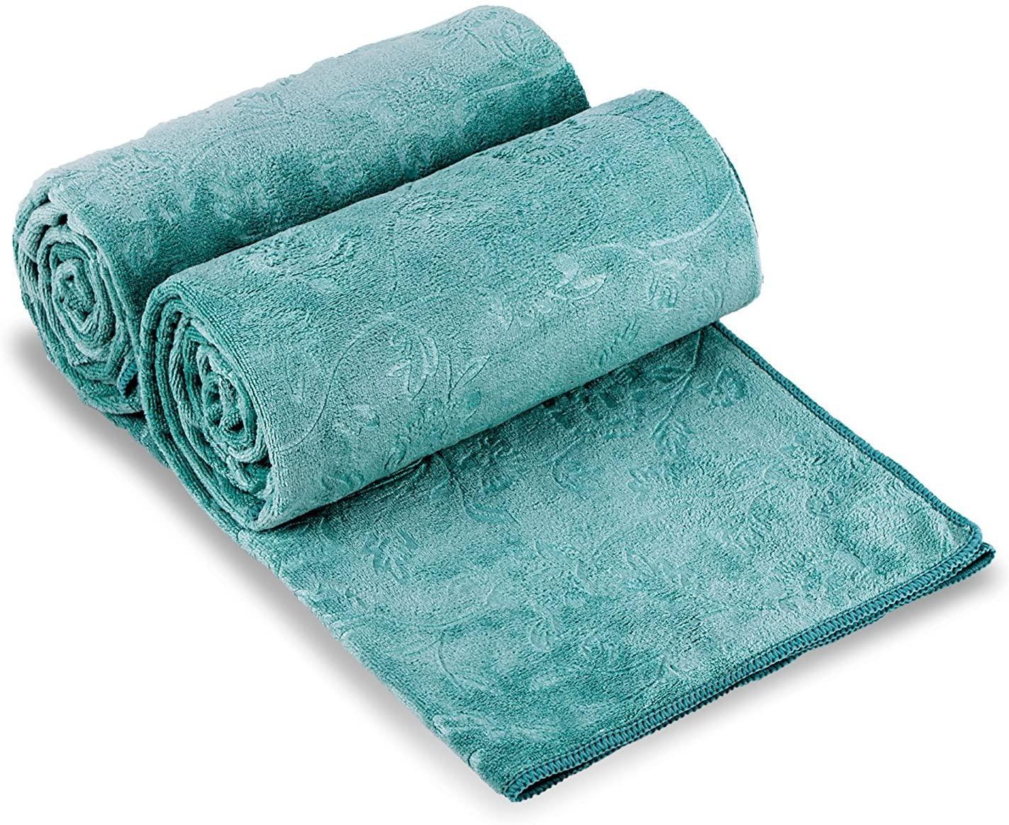 JML Microfiber Bath Towel, Oversized Bath Towel 2 Pack(30