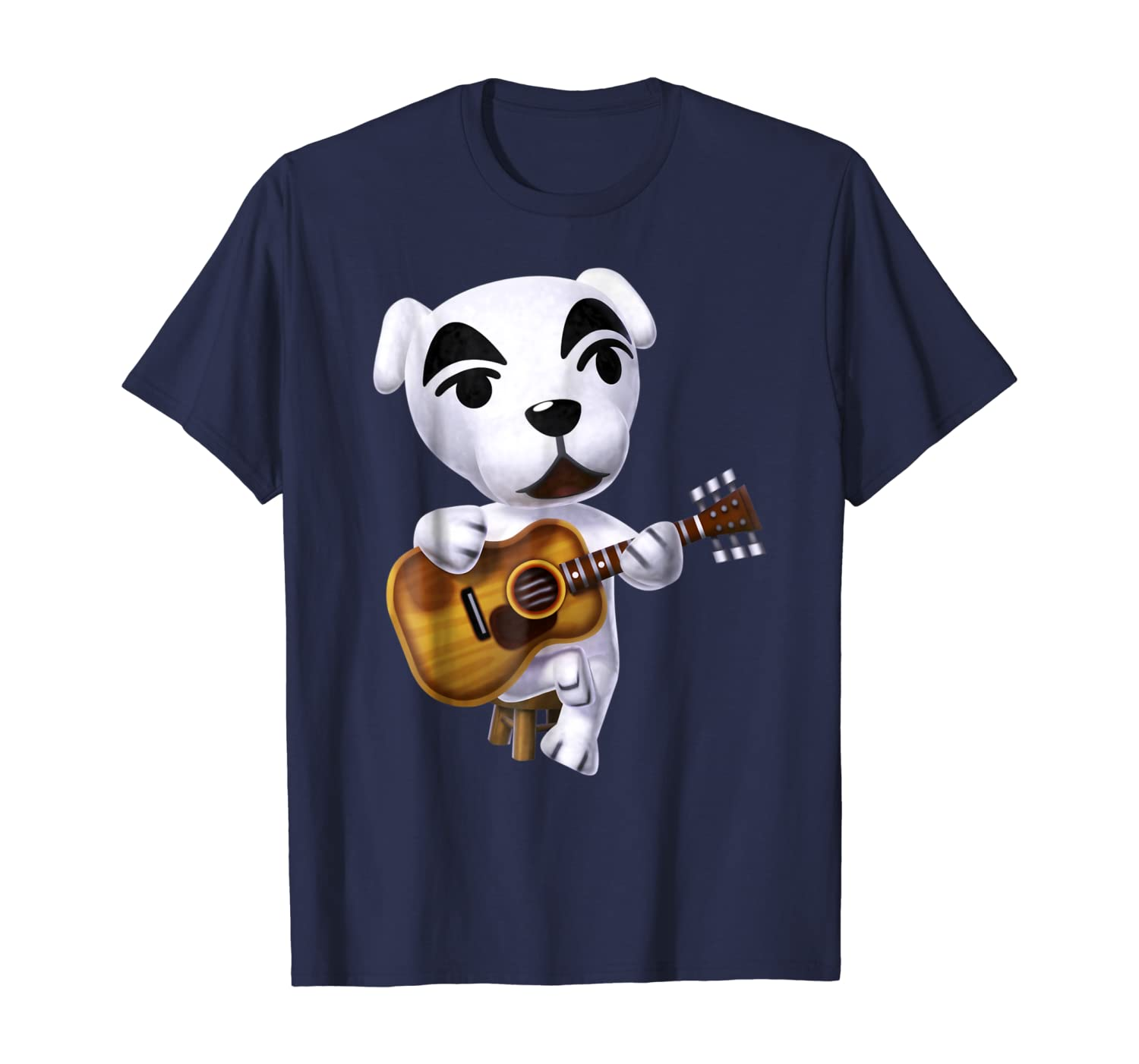 Nintendo Animal Cross K.K. Slider Strumming Graphic T-Shirt
