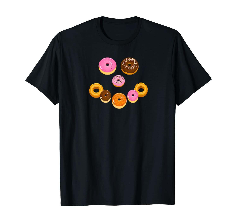 Donuts Make Me Smile T-Shirt
