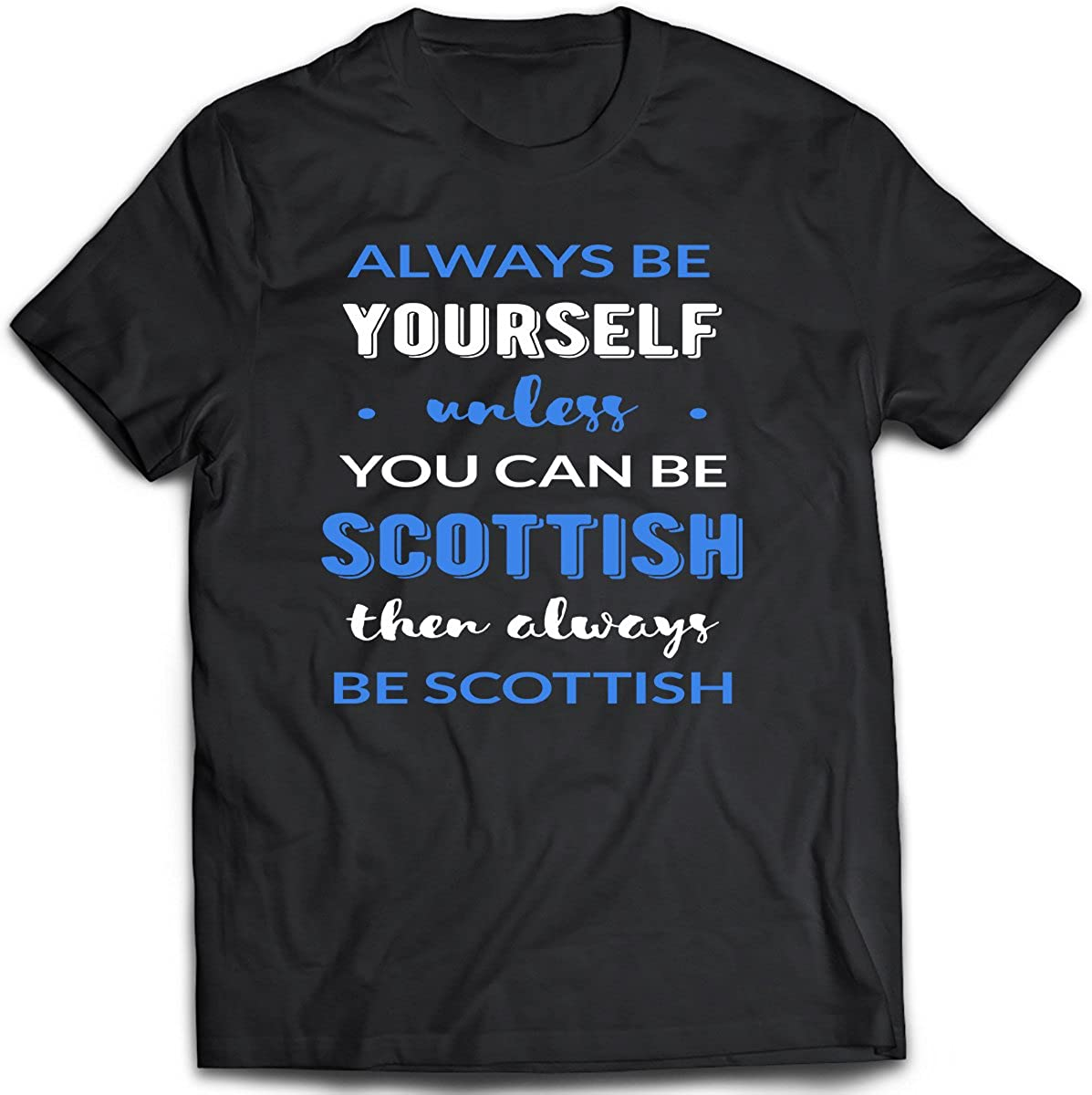 District Shirts Scottish Unisex T-Shirt. Funny Scottish Tee Idea. Shirt for Scottish