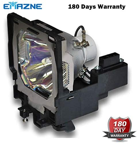 Emazne POA-LMP109 Projector Replacement Compatible Lamp with Housing for Sanyo PLC-XF47 Sanyo PLC-XF47K Eiki LC-XT5 Sanyo PLC-XF4700C Eiki LC-XT5A Sanyo PLC-XF47W