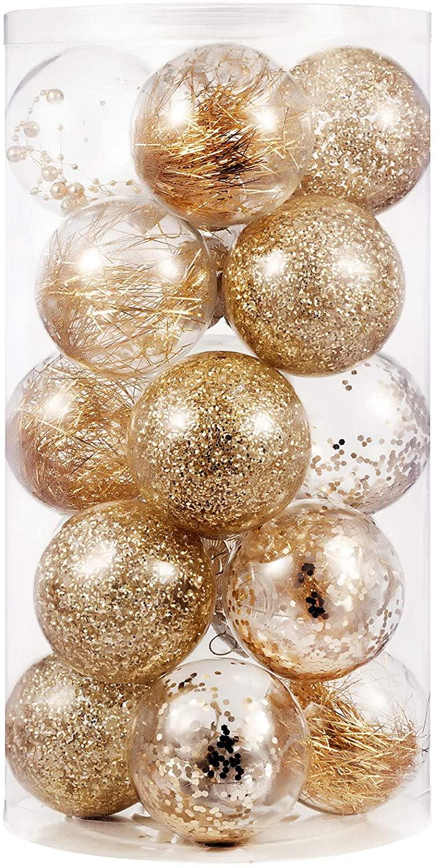SLKing Store Christmas Ball Ornaments 80mm/3.15
