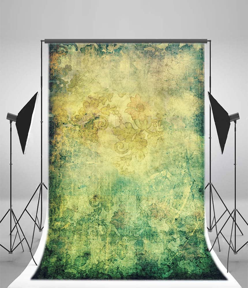 Leyiyi 6x9ft Vinyl Photography Background Thin Retro Pattern Photography Backdrop Studio Props 1.8x2.7m