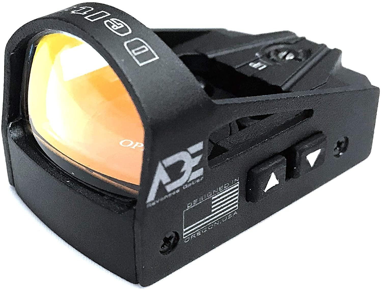 Ade RD3-012-G-MOS Green Dot Reflex Sight for Glock MOS 17 19 34 35 40 41 Pistol Handgun