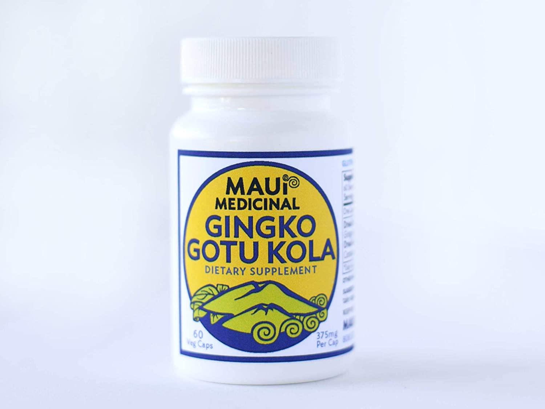 Ginkgo & Gotu kola 60-375 mg Veggie Capsules