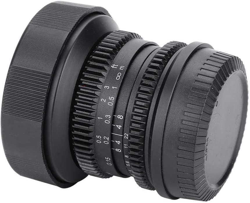 Mugast APS-C 8mm F2.8 Fisheye Fixed Lens Professional Ultra Wide Angle Fisheye Lens for Canon EOS-M, for Sony-E, for Fuji-X, for M4/3(Fuji-X)