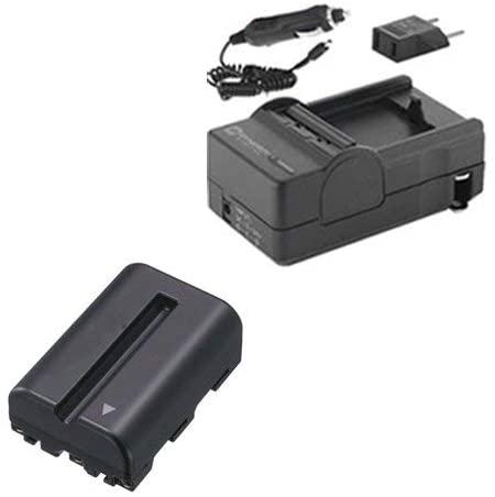 Syenrgy Digital Camera Accessory Kit Works with Sony SLT-A77 II Digital Camera includes: SDNPFM500H Battery, SDM-101 Charger
