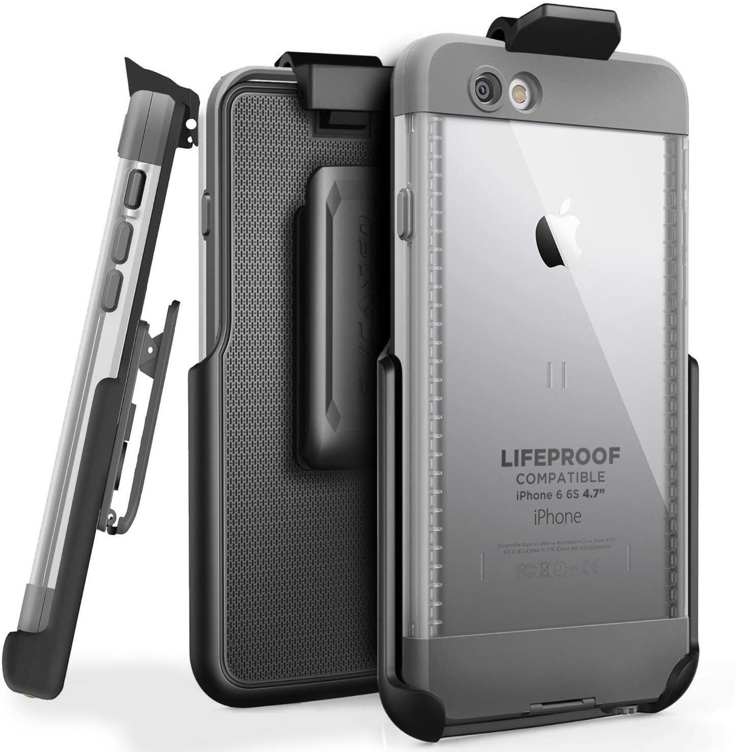 Encased Belt Clip Holster for LifeProof NUUD Case iPhone 6 (4.7