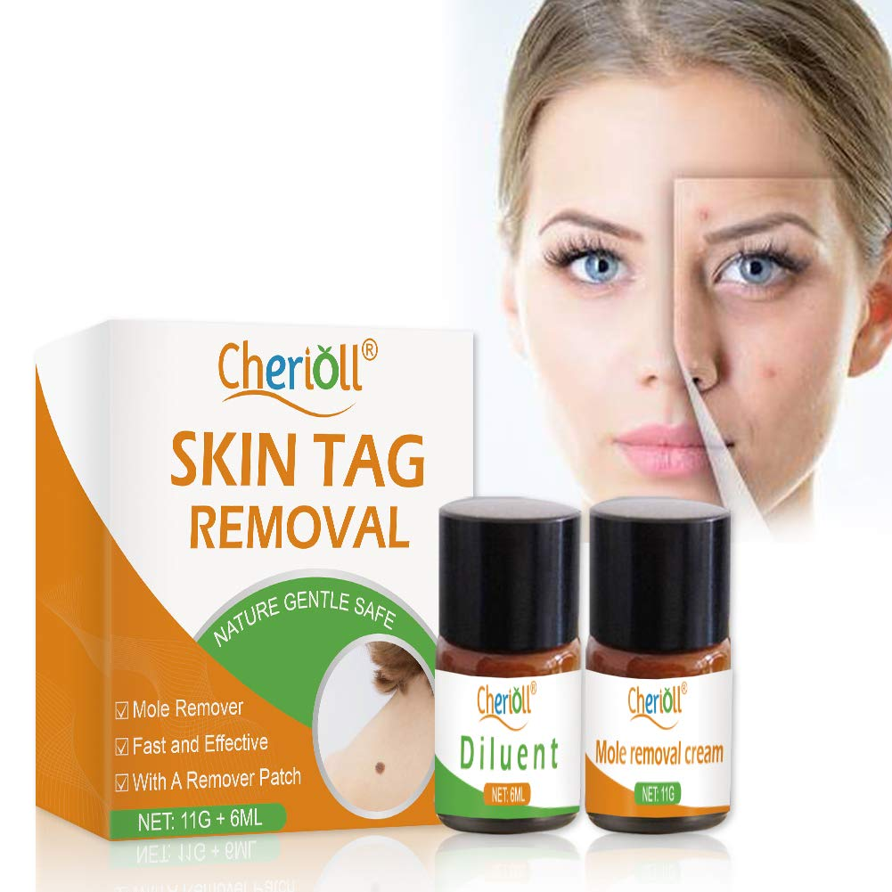 Skin Tag Remover, Mole and Skin Tag Remover, SkinTag Cream, Mole and Skin Tag Remover and Repair Lotion Set, Remove Moles and Skin Tags