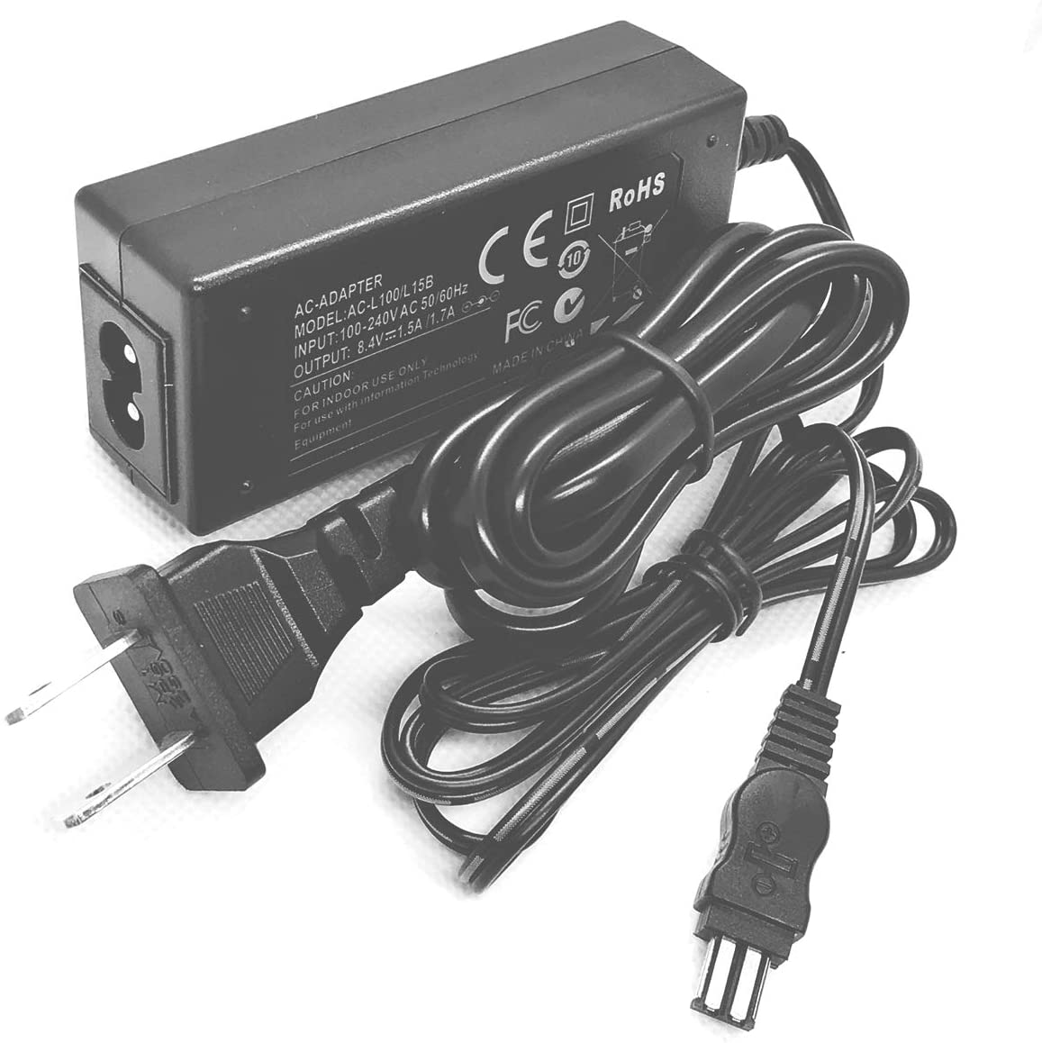 AC Power Adapter Charger for Sony Cyber-Shot DSC-S30, DSC-S50, DSC-S70, DSC-S75, DSC-S85 Digital Camera