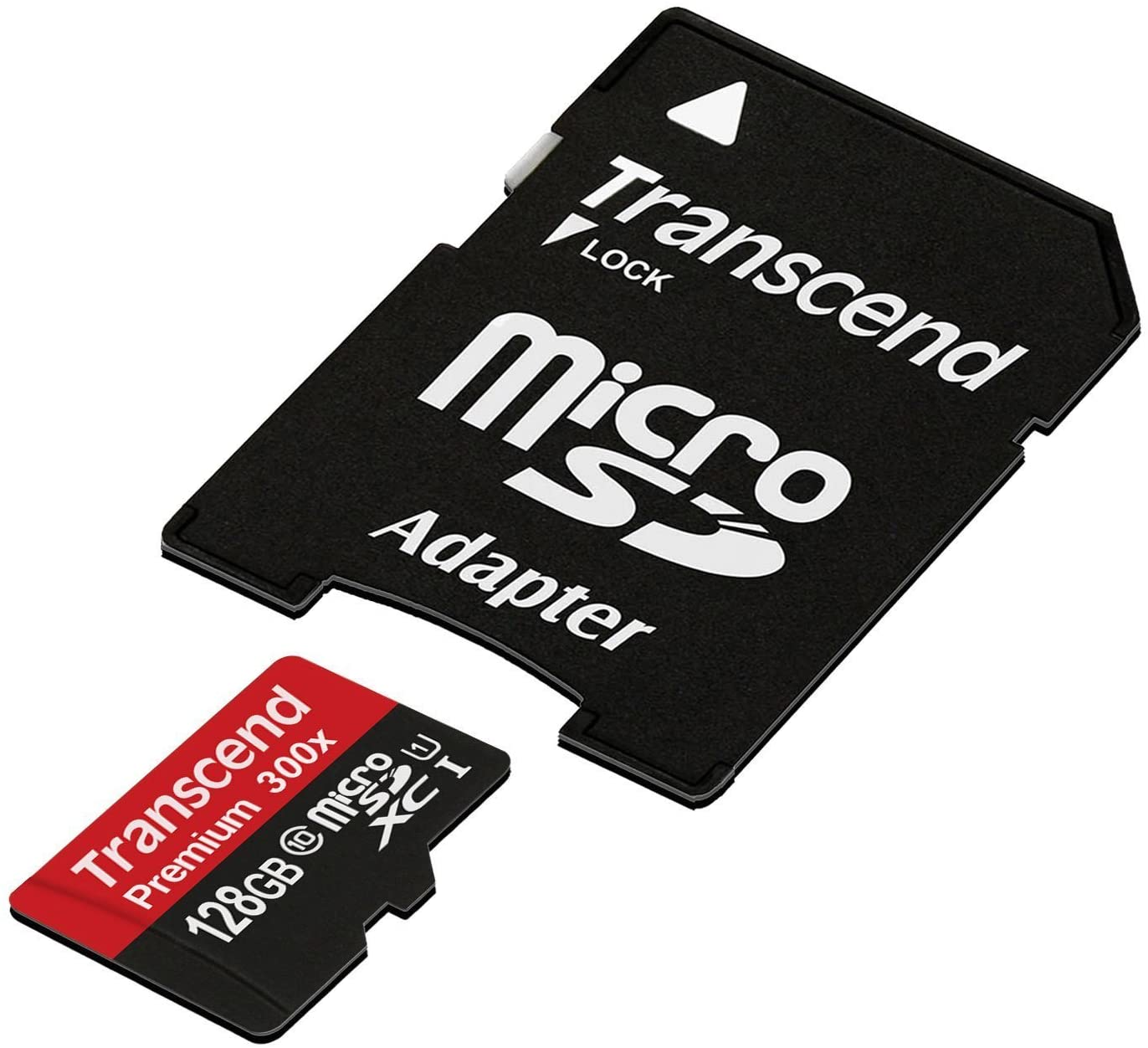 HTC 0PJA200 Cell Phone Memory Card 128GB microSDHC Memory Card with SD Adapter